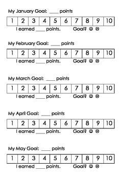 AR Monthly Goal Tracker