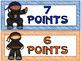 AR Ninjas | Reading Goal Clip Chart