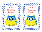 AR Owl Folder Label