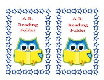 AR Owl Folder Label