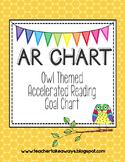 AR {Accelerated Reader} Owl Theme Chart