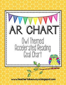 AR {Accelerated Reader} Owl Theme Chart
