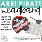 AR Pirate Headband R-Controlled Phonics Craft
