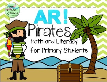 Pirate Math and Literacy for Primary Students
