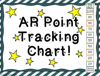 AR Point Tracking Clip Chart! (By 10's)