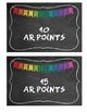 AR Points Clip Chart