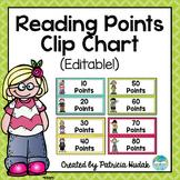 Reading Points Tracker (Editable!)