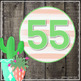 AR Points Clip Chart by 5's {Editable} - Gray Shiplap & Cactus