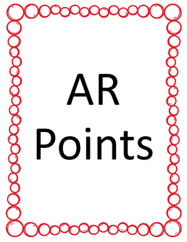 AR Points Posters