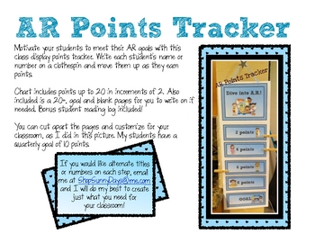 AR Points Tracker-Beach Theme