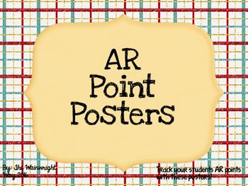 AR Points Tracker- Preppy Themed
