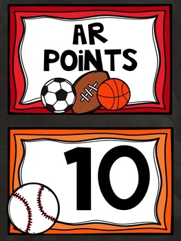 AR Points Tracker Sports Themed