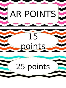 AR Points and Job Chart