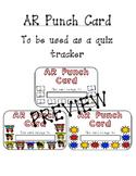 AR Punch Card Quiz Tracker