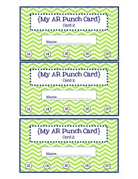 AR Punch Cards