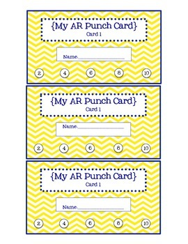 AR Punch Cards