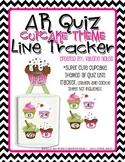 AR Quiz Line Tracker: Cupcake Theme