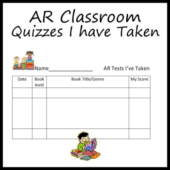 AR Quizzes Record Sheet