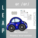 AR - R Controlled Vowel - No Prep Phonics