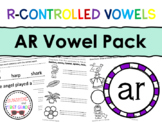 AR R-Controlled Vowel Pack