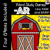 AR -- R Controlled Vowel [[Word Family GAMES!]]