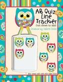 AR /RC Quiz Line Tracker: Cute Owl Theme
