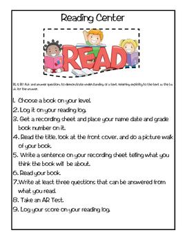 AR Reading Center