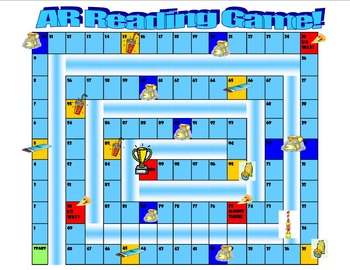 AR Reading Game Board