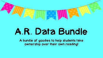 AR Reading Resource Bundle