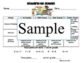 AR Reading Rubric Hawaiian-Luau-Beach Theme
