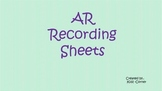 AR Recording Sheet