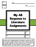 AR Response to Literature Packet 1