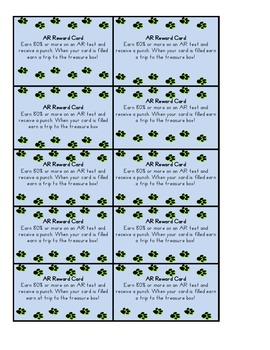 AR Reward Punch Cards