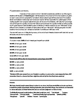 AR Reward-Store Letter