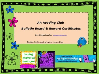 AR Reward System with certificates and bulletin board printouts