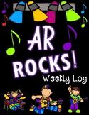 AR Rocks! Weekly Reading Homework Log