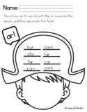 AR heart sound worksheet Science of Reading Secret Stories® reinforcement: