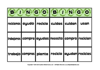 AR Spanish Verbs MagnetMat Fun