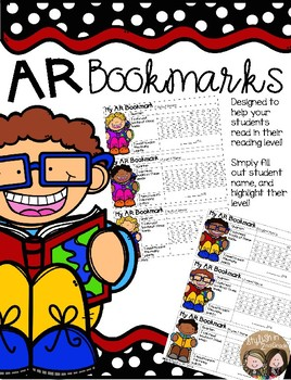 AR Student Bookmarks