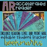 AR Student Tracker Bookmarks *Editable*