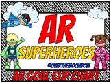 AR Superheroes ~ Reading Goal Clip Chart