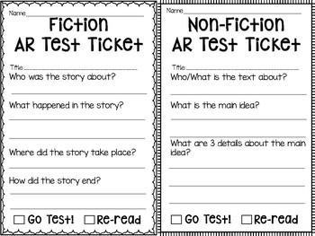 AR Test Ticket