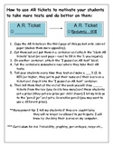 AR Tickets for Reading Success