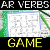 AR Verbs Game