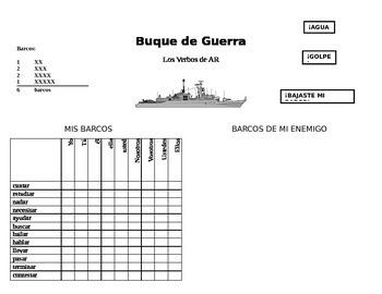 AR Verb Battleship