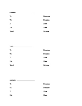 AR Verb Conjugation Notes and Practice - Present Tense