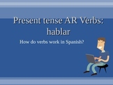 AR Verbs - How they work?