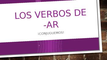 AR Verbs Whiteboard Practice