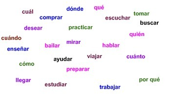 AR Verbs and Question Words in Spanish Matamoscas