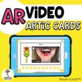 AR Video Articulation Cards - Vocalic R Sound Speech Thera
